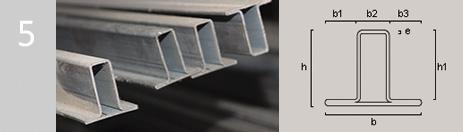 Otros perfiles hierros arimany for Perfiles de hierro galvanizado precio